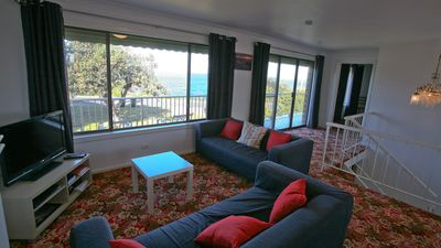 Photo for Gull Cottage: Watch the whales swim by from lounge. Walk to beach & town - Pac7