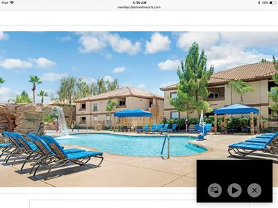 Photo for 2 BR 2 BA CONDO DESERT PARADISE RESORT