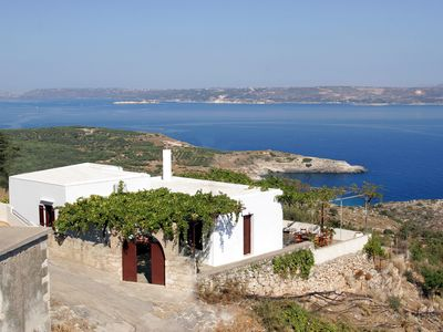 Photo for Sea View Traditional Villa in Crete
