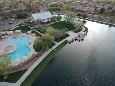 Expansive recreational areas with trails, lakes, parks, pools and sport courts!