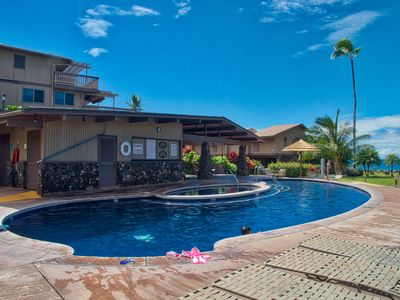 Photo for Kahana Sunset D1D Ground Floor Studio 1B/1B with AC and Ocean Views from Lanai