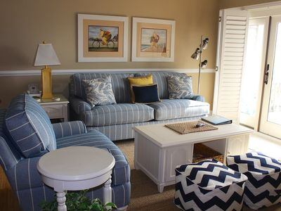 Photo for Remodeled/Redecorated Villa! View of Edisto & Ocean! Walk to Pools, Golf!