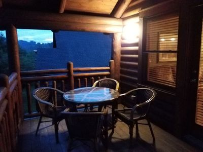 Photo for West Gate Smokey Mountains -5 Star Resort, 1 bedroom, 1 bath cabin. 3 Nights