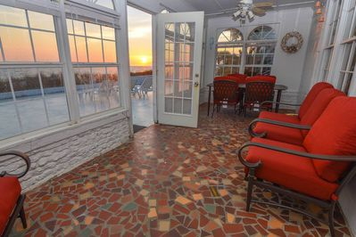Patio W/ Sunset