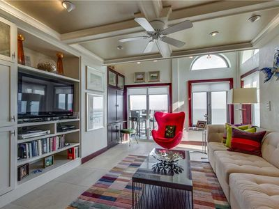 Photo for Completely Unique Penthouse With Beautiful Decor- Private Oceanfront Deck!