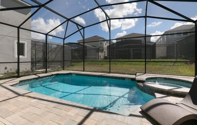 Photo for Luxury on a budget - Solara Resort - Amazing Contemporary 4 Beds 3.5 Baths  Pool Villa - 5 Miles To Disney