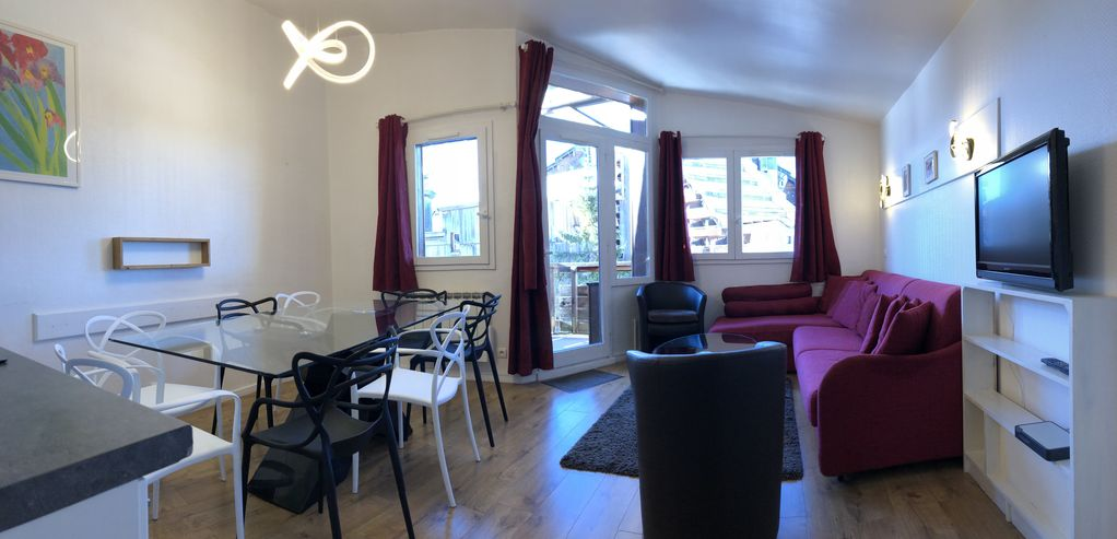 Avoriaz, spacieux appartement 7 pers, 65m2
