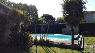 Photo for Villa Cap Ferret spirit, heated pool, garden, without vis-à-vis