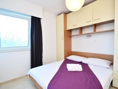 Photo for Apartment 524 m from the center of Vodice with Parking, Internet, Washing machine, Air conditioning (122087)