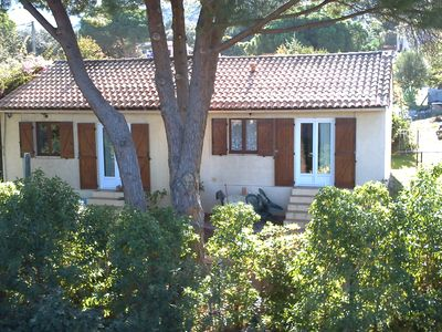 Photo for House with garden, near the beach, for 2 people, fully equipped.