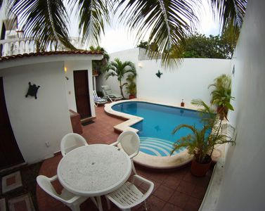 Casa Suzana's Private Paradise! Complete with rinse tank, exterior shower