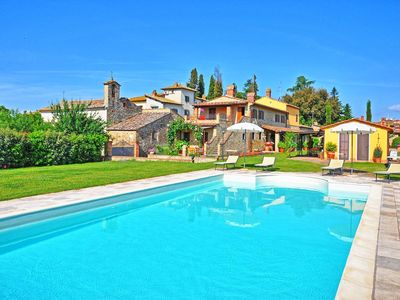 Photo for Beautiful  villa with private pool, WIFI, A/C, TV, patio, washing machine and parking