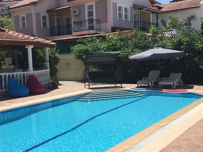 Photo for GOOD LOCATED Villa with Private Pool and FREE WİFİ! JUST 10 MİN FROM THE BEACH!