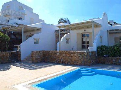 Photo for Marvi house in a complex between Korfos and Ornos, in Mykonos, with 5 bedrooms, 10 sleeps