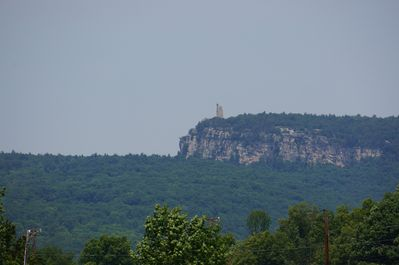 View of mohonk mountain