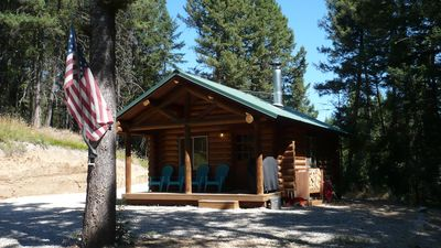 Photo for Ravenwood Cabin, Darby Montana