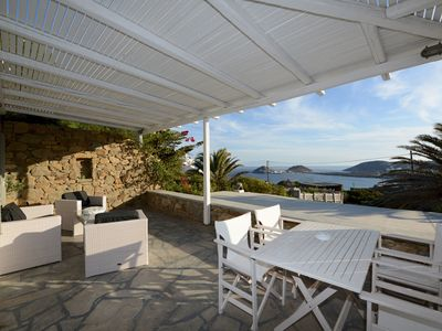Photo for Villa Fragkia with sea view