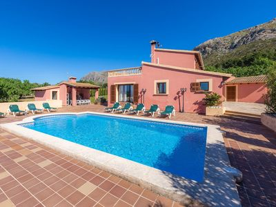 Photo for Rural location with pool and sea view - Villa Can Sua