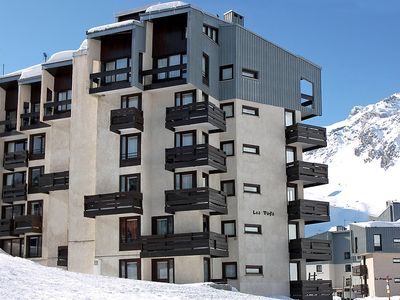 Photo for Apartment 554 m from the center of Tignes with Internet, Balcony (98671)
