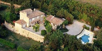Photo for 18th Cent. Stone Mas in Uzès on 5 acres w/stunning views