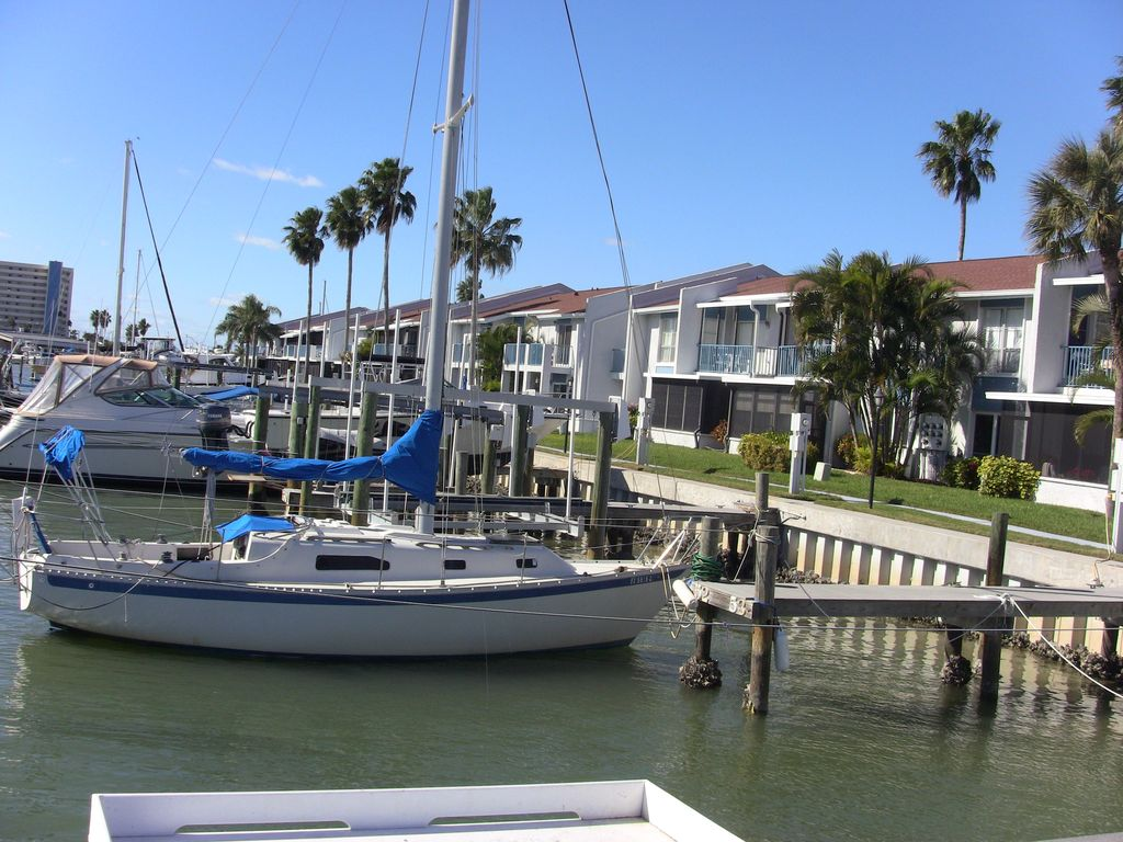 Yacht Club Madeira Beach Florida