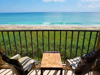 Photo for Beachfront 2 BED / 2 BATH Condo Overlooking the Beautiful Atlantic Ocean!
