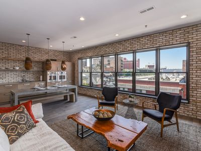 Photo for Downtown Asheville Modern Penthouse with Grove Park Views!