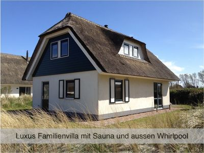 Photo for Luxury villa with family sauna and Wi-Fi very near to the beach (500 m)
