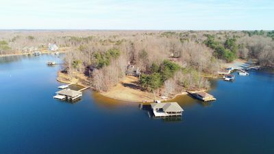 Photo for Laking it Easy! Over 250 Ft. of lakefront with amazing boathouse!