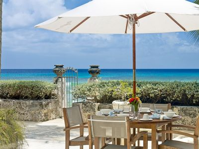 Photo for LEAMINGTON COTTAGE BARBADOS -  LUXURY BEACHFRONT WITH PRIVATE POOL