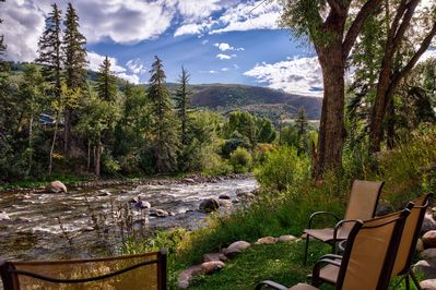 Relax on the banks of the Eagle River!