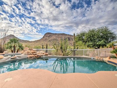 Photo for 4BR Scottsdale Home w/Pool, Spa, Fire Pit & Views!