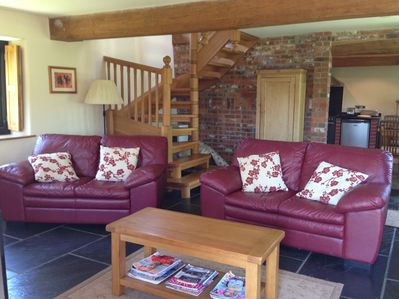 Comfy Lounge with new sofas