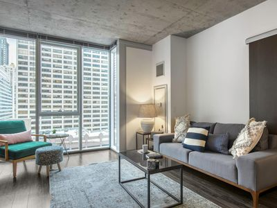 Photo for Modern 1BR in The Loop w/ Gym, near the Riverwalk by Blueground