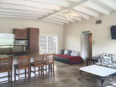 Photo for 2 Bedroom 1 Bath Apartment 4 minute walk to beach and POOL onsite