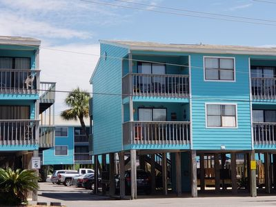 Photo for Newly Renovated Gulf Shores Condo  across the street from beach