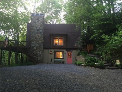 Photo for Treetops Lodge - Private Mountain Home in Mt. Mitchell Golf Community