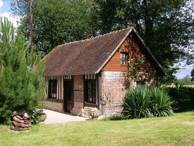Photo for 1BR Cottage Vacation Rental in Boissey, Lower Normandy