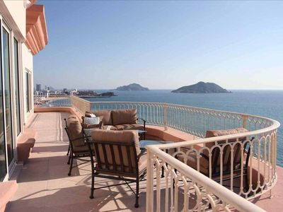 Photo for Ocean-Front Luxury Penthouse - Best in Mazatlan