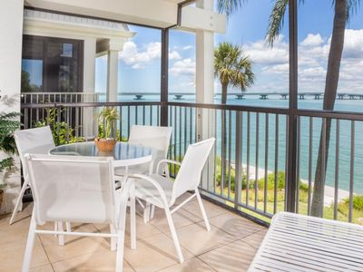 Photo for This beautiful condo offers breathtaking panoramic water views