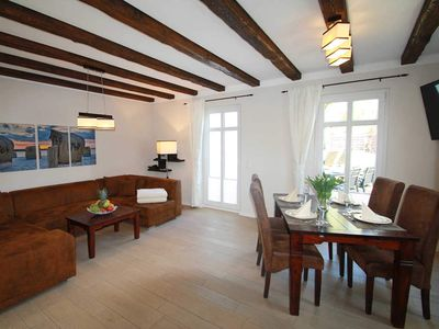 Photo for Comfort Apartment - Jasmund - NEW: Holiday home with fireplace, 2 bathrooms, 2 bedrooms - by the water