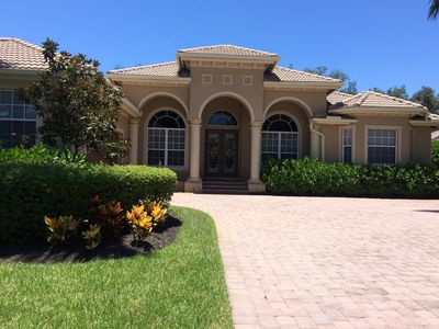 Photo for Beautifully maintained home in gated community with many amenities.