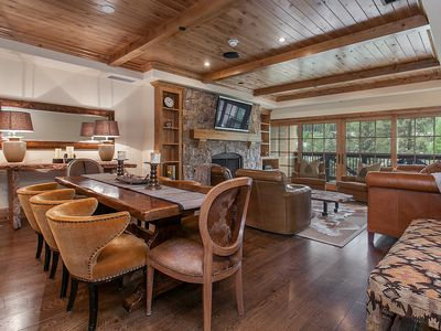 Photo for Vail Village, Unobstructed Mountain Views, Hot Tub, Outdoor Pool, Garage Parking