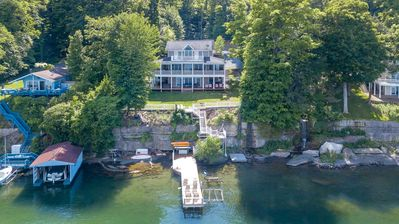 "Photo for Serenity: ""Lakeside luxury! Close to Ithaca!"""
