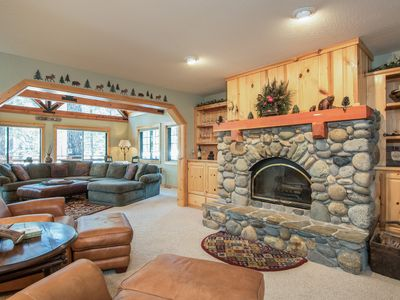 Photo for Spring Special! Family-friendly home on golf course with mountain views and ski shuttle