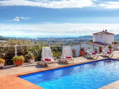 Photo for Vacation home Mirador in Calonge - 8 persons, 4 bedrooms
