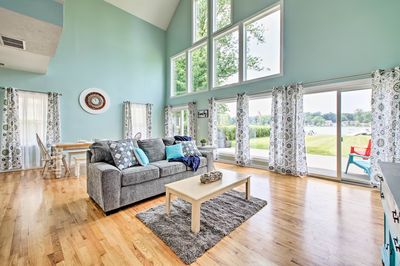 This 3,236 square-foot home offers 4 bedrooms and 2.5 bathrooms.