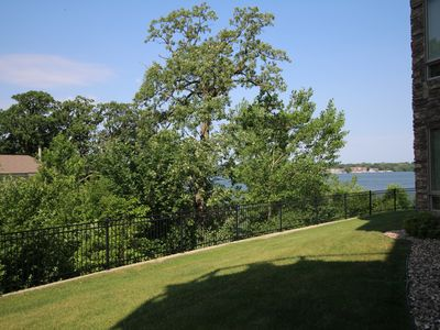 Photo for Main level condo, a view of the lake & trees