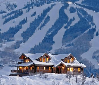 Photo for Stunning Colorado Log Home - Breathtaking views over Snowmass - 6 Bedrooms