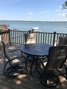 Great patio furniture and an even better view!